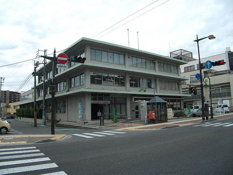 File:Haramachi Postoffice(Ueda,Nagano).JPG