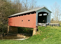The Harra Covered Bridge