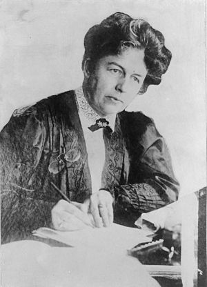 Emmeline Pankhurst - Harriot Eaton Stanton Blatch, daughter of US suffragist Elizabeth Cady Stanton, became friends with Pankhurst through their work in the Women's Franchise League.