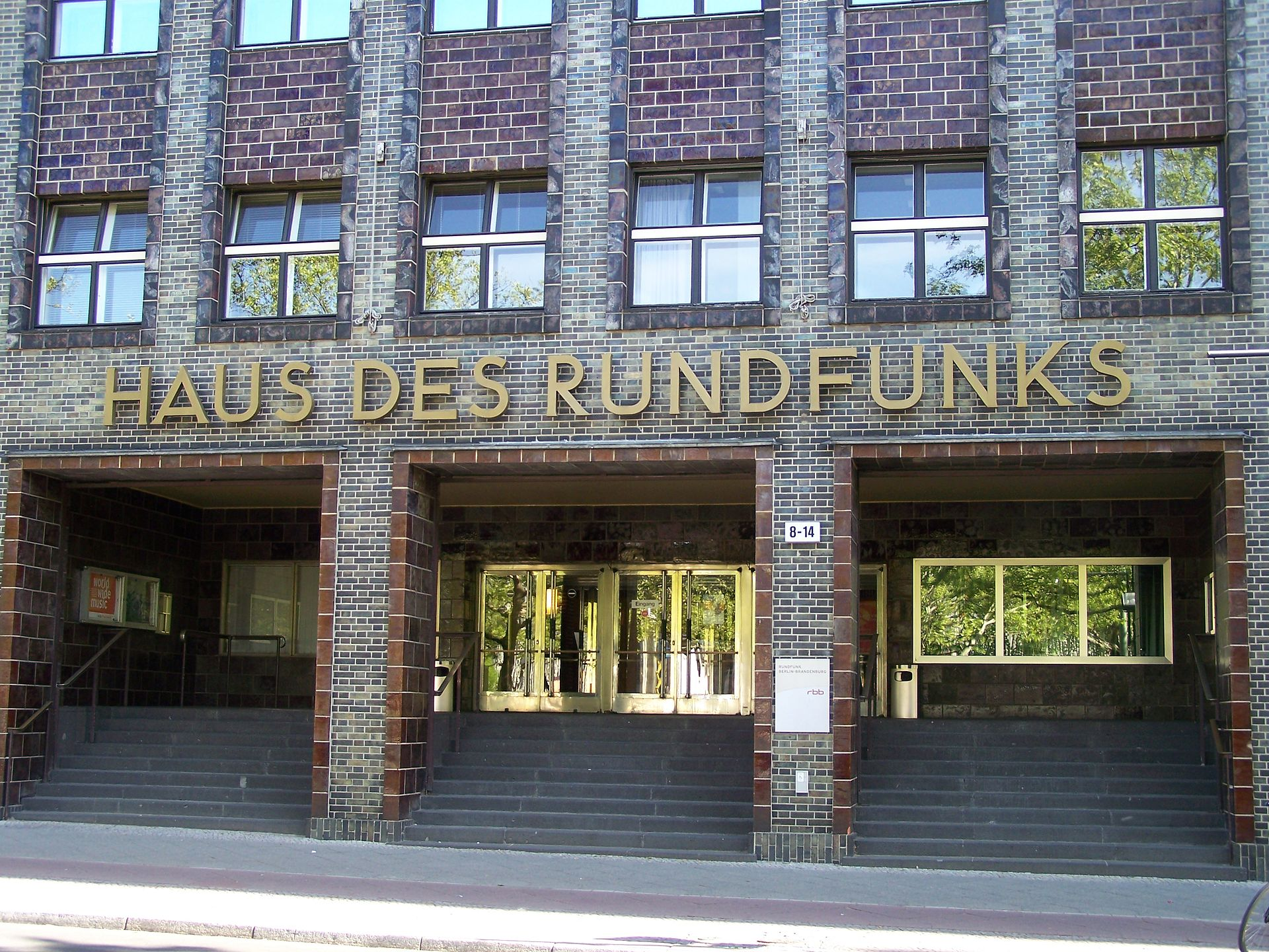 haus des rundfunks wikipedia. Black Bedroom Furniture Sets. Home Design Ideas