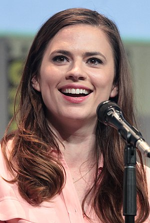 Hayley Atwell - Atwell at the 2015 San Diego Comic-Con