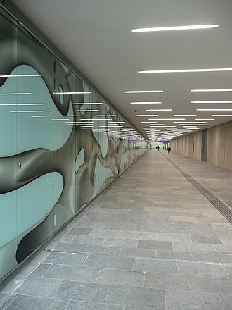 Graz Hauptbahnhof - New foot tunnel to Wagner Biro Straße