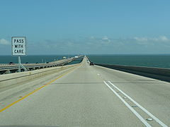 Heading north on Lake Pontchartrain Causeway.jpg