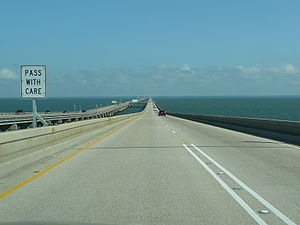 View while heading north on the Lake Pontchart...
