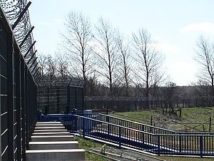 33rd G8 summit - Heiligendamm security fence was designed not to fail.