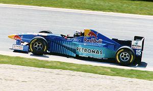 Sauber C15 - Image: Heinz Harald Frentzen 1996 Imola