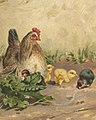 Hen with Four Chickens (Boston Public Library) (cropped).jpg