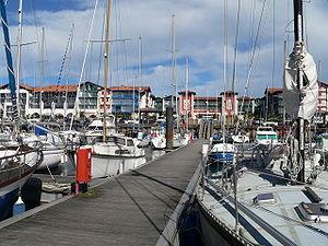 Hendaye - Hendaye harbour