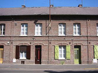 Hénin-Beaumont -  Former coal miners' housing