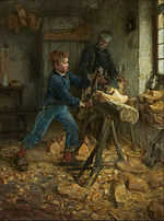 Henry Ossawa Tanner - The Young Sabot Maker - Google Art Project.jpg