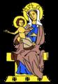 Heraldique Vierge à l'Enfant.png