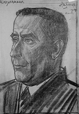 Herman Heijermans (Jan Toorop, 1914)