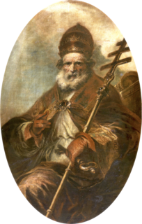 Pope Leo I Pope from 440 to 461