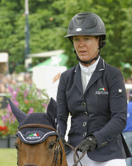 Lauren Hough mit Ohlala beim Internationalen PfingstTurnier Wiesbaden 2013 CSI5*