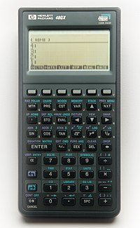 Hewlett-Packard 48GX Scientific Graphing Calculator.jpg