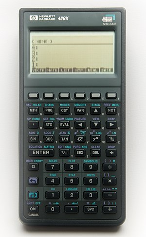 HP 48 series - HP 48GX