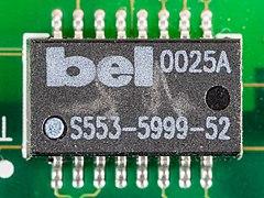 Hewlett-Packard JetDirect 170X - board - Bel S553-5999-02-2740.jpg