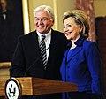 Hillary Clinton with Frank-Walter Steinmeier, February 2009.jpg