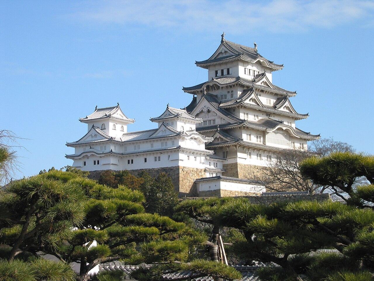 Himeji Castle The Keep Towers.jpg
