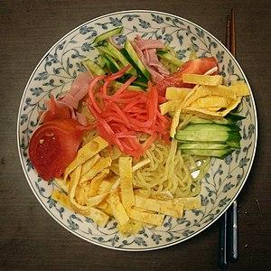 Japanese Chinese cuisine - Hiyashi Chuka