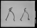 Hjulsporre av mässing, 1500-tal - Livrustkammaren - 53552.tif