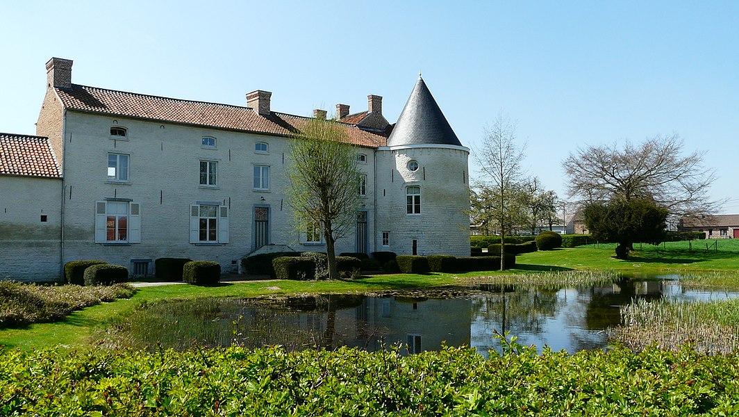 Kasteel en vijver Hof ten Steen, Orsmaal, Linter