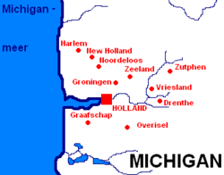 Nederlandse nederzettingen in Michigan