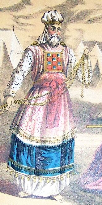 Tetzaveh - The High Priest (illustration from the 1890 Holman Bible)
