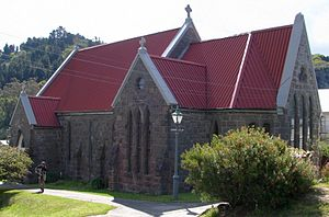 Holy Trinity Church, Port Chalmers - Holy Trinity Church in 2008