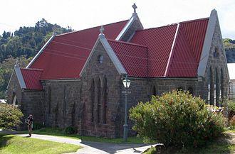 Holy Trinity Church, Port Chalmers - Holy Trinity Church in 2008