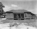 Home of cotton sharecropper Floyd Borroughs. Hale County, Alabama.jpg