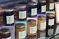 Honey and jams from Ladurée on display.jpg