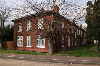 RAF Hornchurch - Astra Court East, the former Officers Quarters