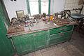 Hornický skanzen Mayrau, pracovní stůl.jpg