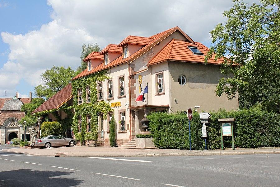 Hotel soldat de l'an II, Phalsbourg, Lorraine, France