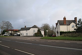 Appledore, Mid Devon - Image: Houses and businesses by the A38, Appledore geograph.org.uk 1626202