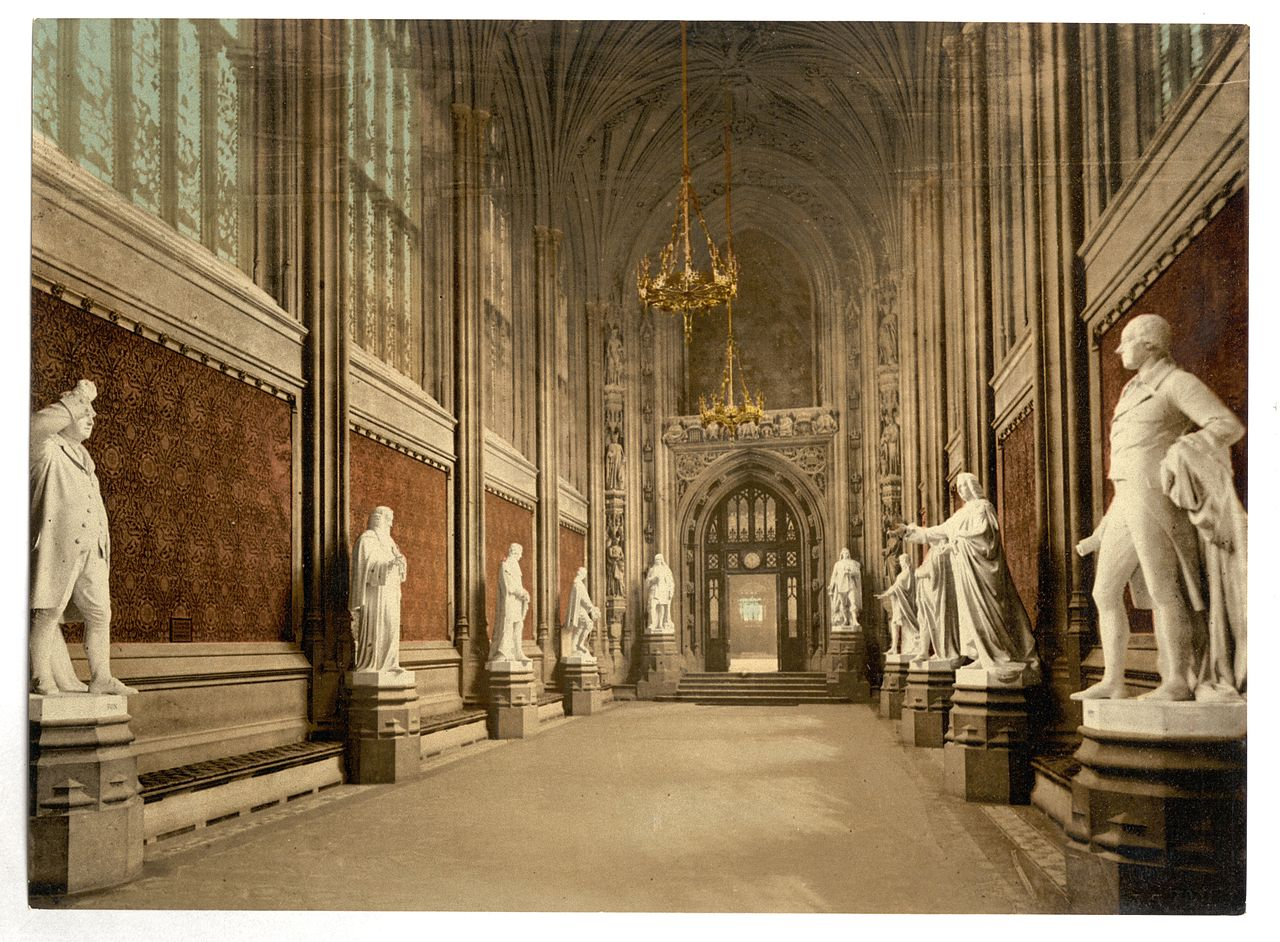 File Houses Of Parliament St Stephen 39 S Hall Interior London England