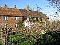 Houses on Chalk Pit lane. - geograph.org.uk - 304438.jpg