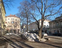 Storgatan i Hudiksvalls centrum 2010.