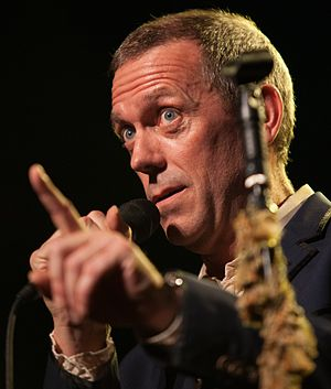Hugh Laurie - Hugh Laurie performing at the Montreux Jazz Festival