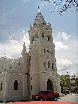 Image:Humacao, Puerto Rico church