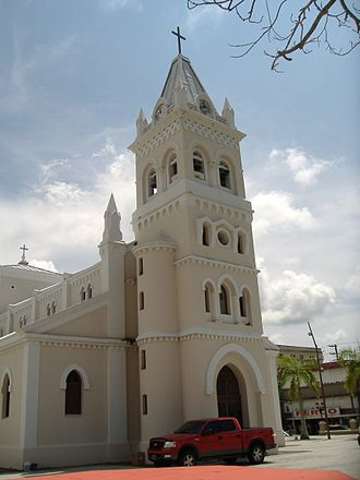 Humacao, Puerto Rico - The co-cathedral of the Fajardo-Humacao diocese at the town square