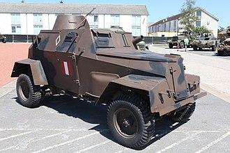 Humber Light Reconnaissance Car - Image: Humber Light Reconnaissance Car