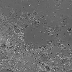 Mare Humorum - Image: Humorum basin topo