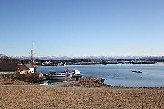 Hundvåg (island) - View of Hundvåg