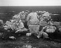 Hutted in the chalk bank, various positions YORYM-S342.jpg