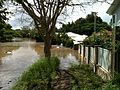 Hyde Road in the Brisbane suburb of Yeronga flooded.jpg