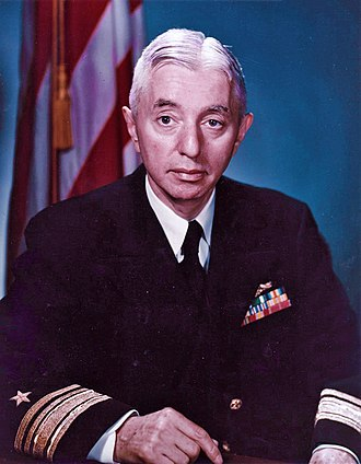 Hyman G. Rickover - Rickover pictured in 1955 as a rear admiral