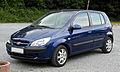 Hyundai Getz (Facelift) – Frontansicht, 4. Juni 2011, Wülfrath.jpg