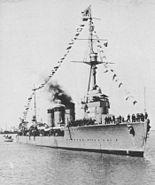 IJN Tenryu in Shanghai Feb 1934